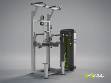 تصویر دستگاه بدنسازی پارالل بارفیکس Dhz مدل E3009 مینی اپل